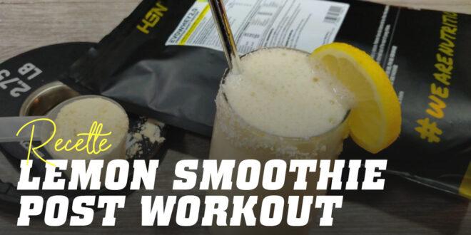 Smoothie au Citron Post-Entraînement