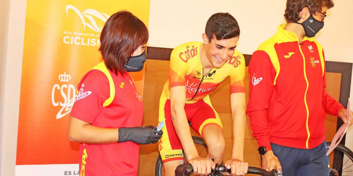Test d'effort entraînement cycliste en Watts