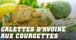 Pancakes à l'Avoine et Blancs d'œufs aux Courgettes