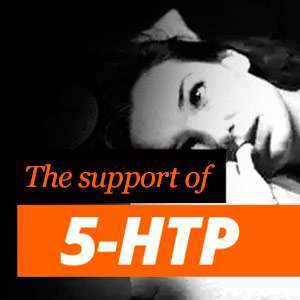 5-HTP as support