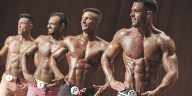 Bodybuilders competition