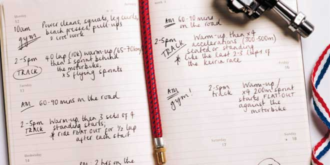 Diary training