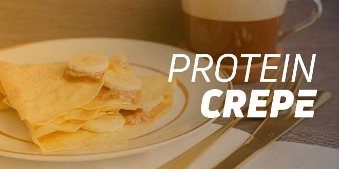 Protein Crepe: Recipe with Whey Protein