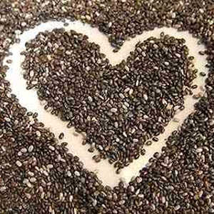 Chia seeds omega-3 and omega-6 content