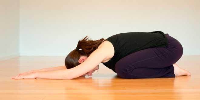 Balasana exercise