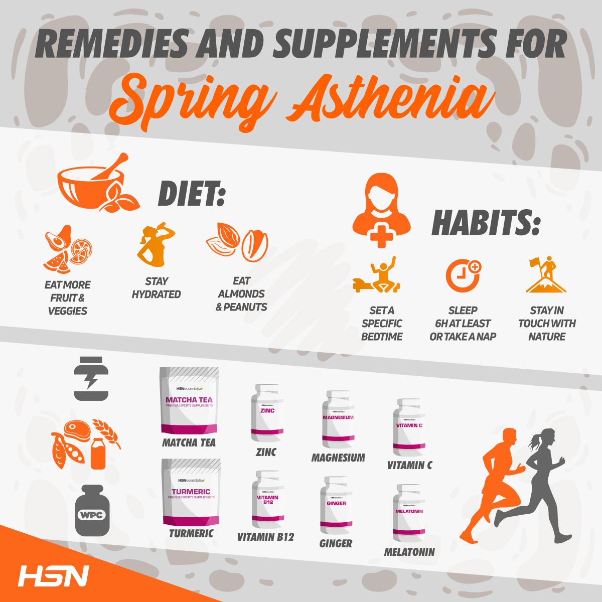 Remedies and Supplements for Spring Asthenia