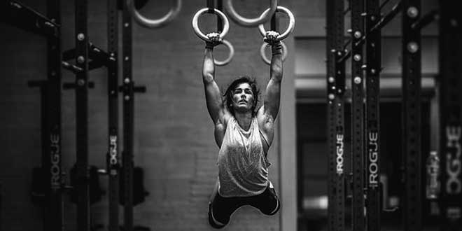 Ring exercises and beta-alanine