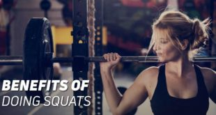 Benefits of doing squats