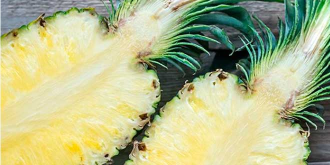 The stem contains bromelain