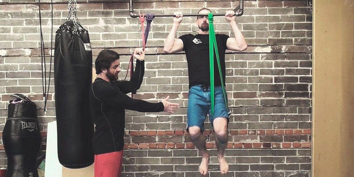 Pull ups elastic bands