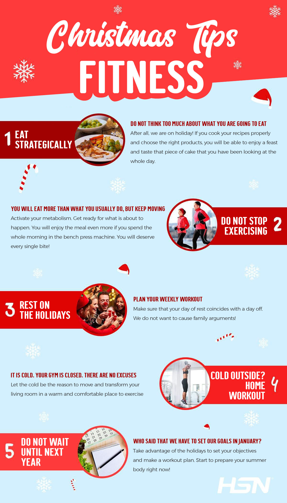 Tips for a Fitness Christmas