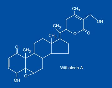 Withaferin chemical structure