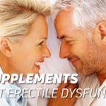 Supplements against erectile dysfunction