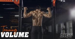 Training volume diet