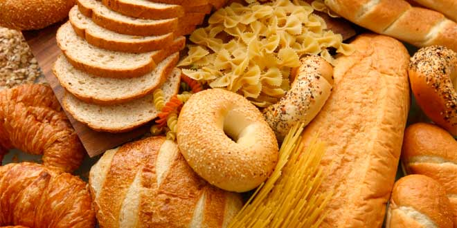 Bread, pasta and cereals