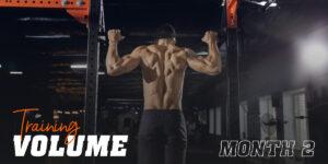 Training volume month 2