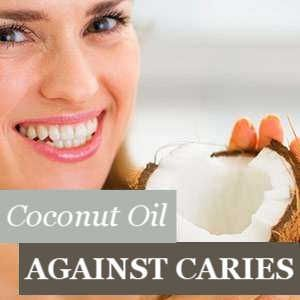 Coconut Oil protects against Caries