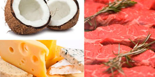 Natural Sources of Saturated Fats