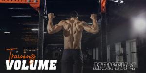 Training volume month 4