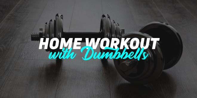 Home Workout with 2 dumbbells: first month (I)