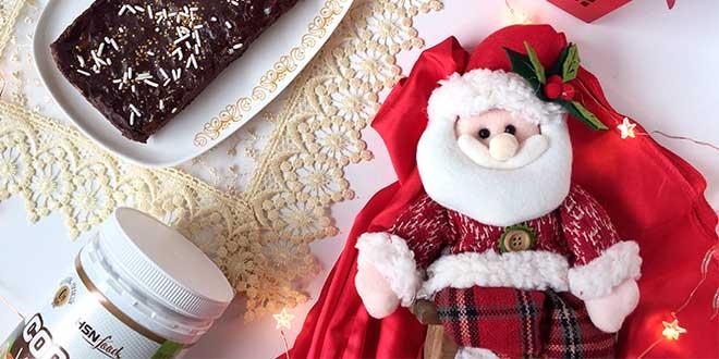 Fitness nougat and Santa Claus