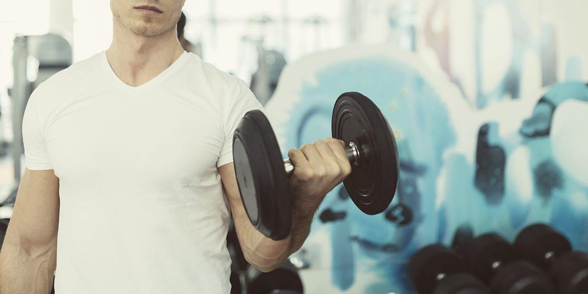 Fitness halteres