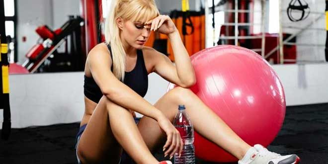 Why does fainting and blacking out happen during exercise?