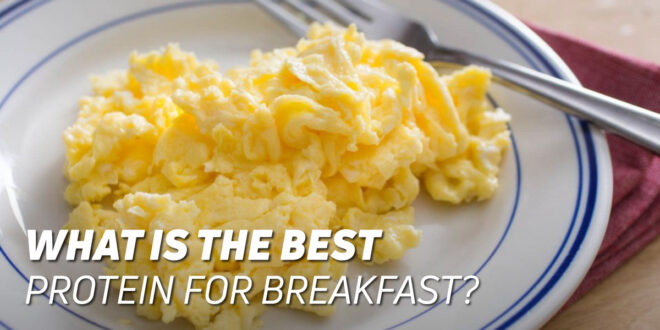 The best protein to have at breakfast