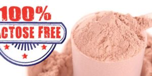 Lactose-free protein scoop