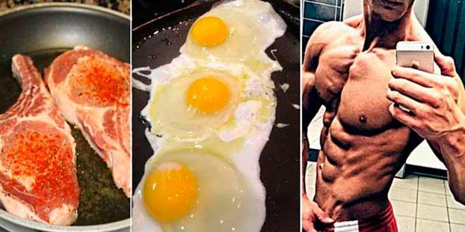 Meat, eggs