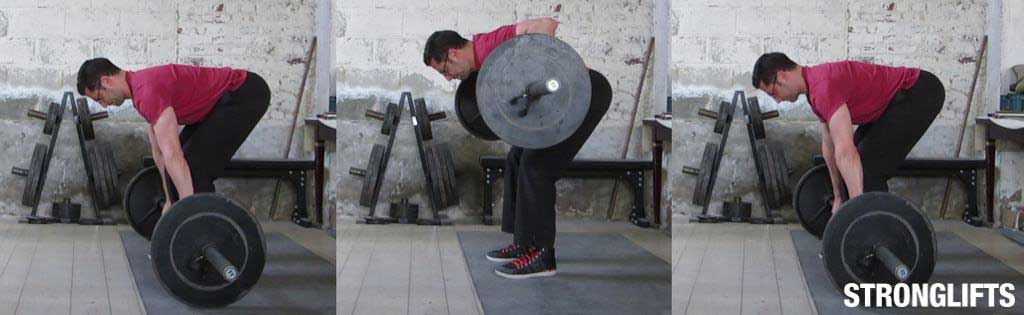 How to do a bar row