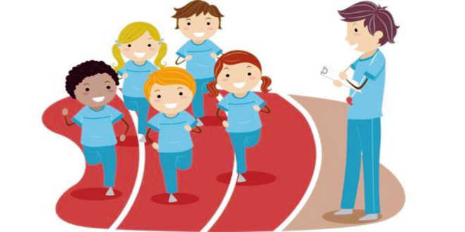 Types of muscle fibre passed from parents to children