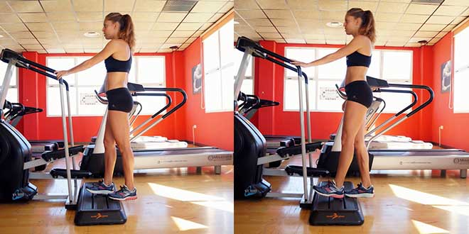 Calves and soleus muscle exercise