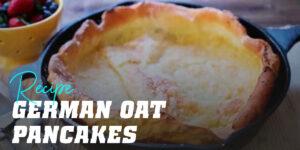 German-style Oat Pancakes