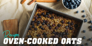 Oven-Cooked Oats with Wild Fruits