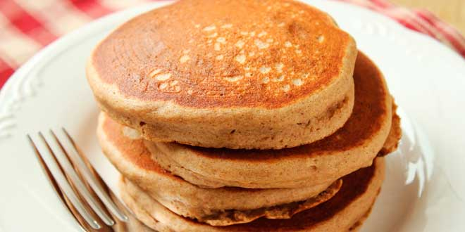 Oat and Quinoa Pancakes