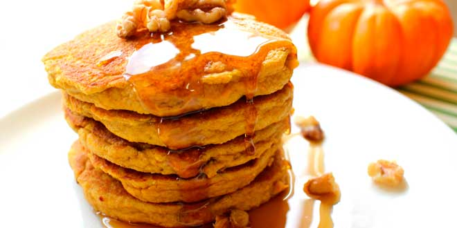 Oat Pancakes with Pumpkin