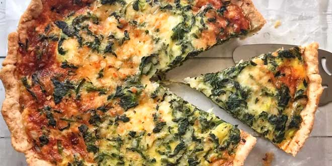 Quiche with Coconut Milk and Vegetables