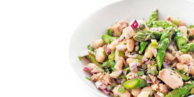 Tuna, Asparagus and Bean Salad