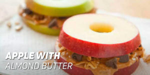 Apple with Almond Butter