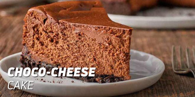 Choco-Cheese Protein Cake