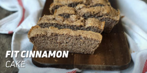 Fit Cinnamon Cake