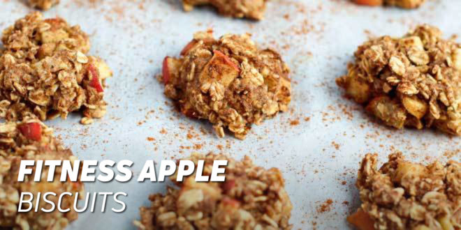 Fitness Apple Biscuits