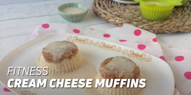 Fitness Cream Cheese Muffins