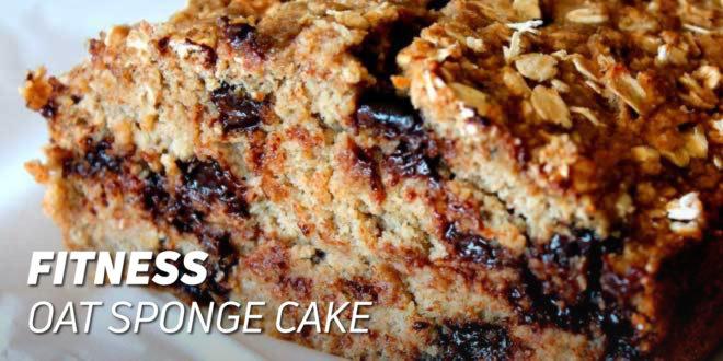 Fitness Oat Sponge Cake