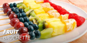 Fruit brochette