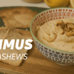 Hummus with cashews
