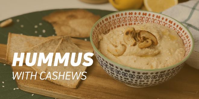 Hummus with Cashews