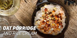 Oat Porridge with Rice Cream