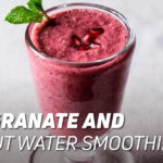 Pomegranate and Coconut Water Smoothie